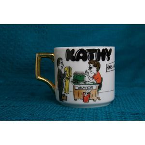 Vintage Kathy Clothing buyer Mug